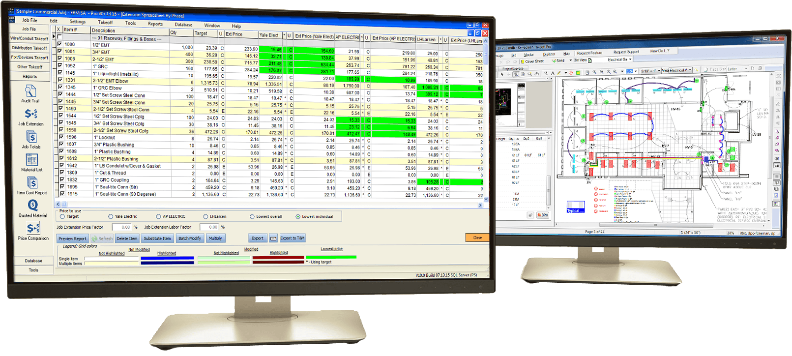 Electrical Estimating Software