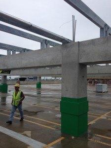 Electrical estimating solar project - concrete pillars