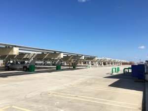 Tampa International Airport solar installation